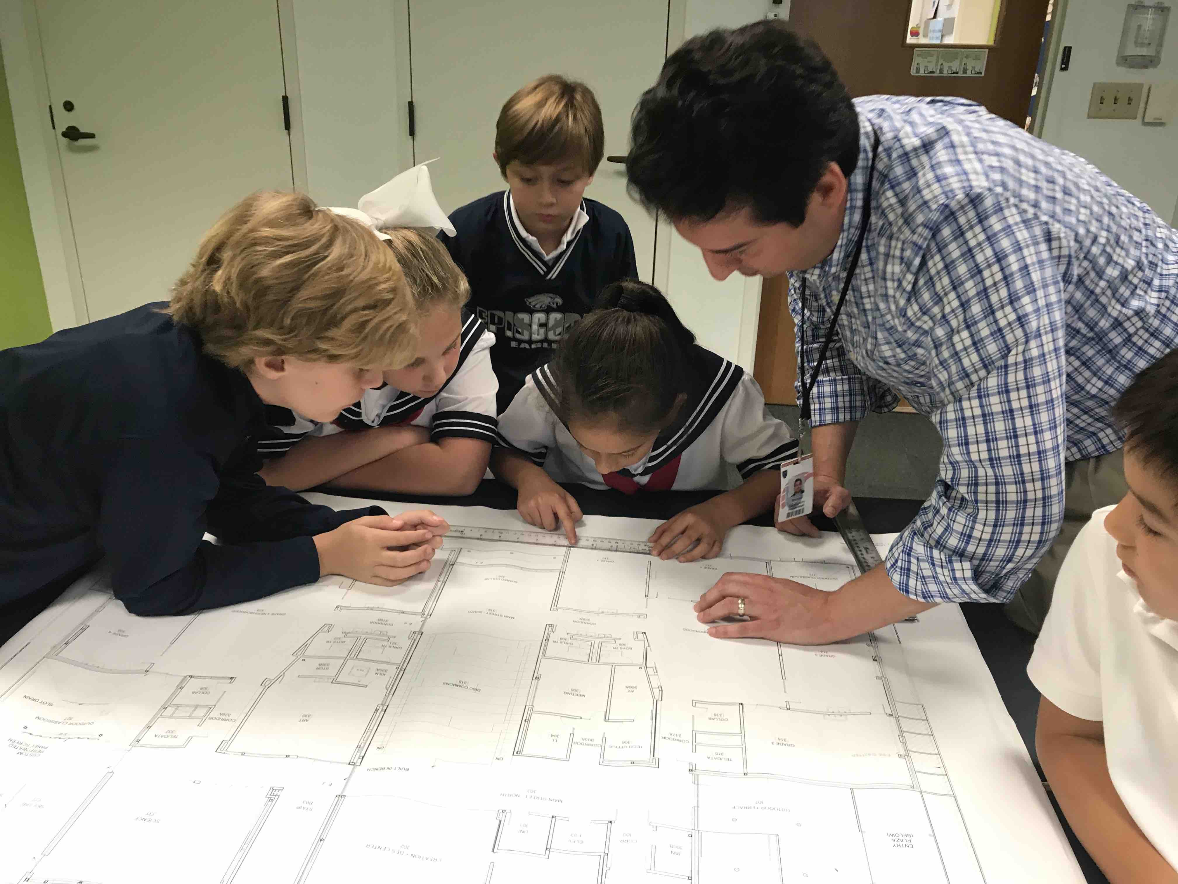 Third Graders Solve Real-World Questions About the New Lower School in the What If Lab